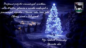 Vianočný pozdrav - Obec Zalužice 2016